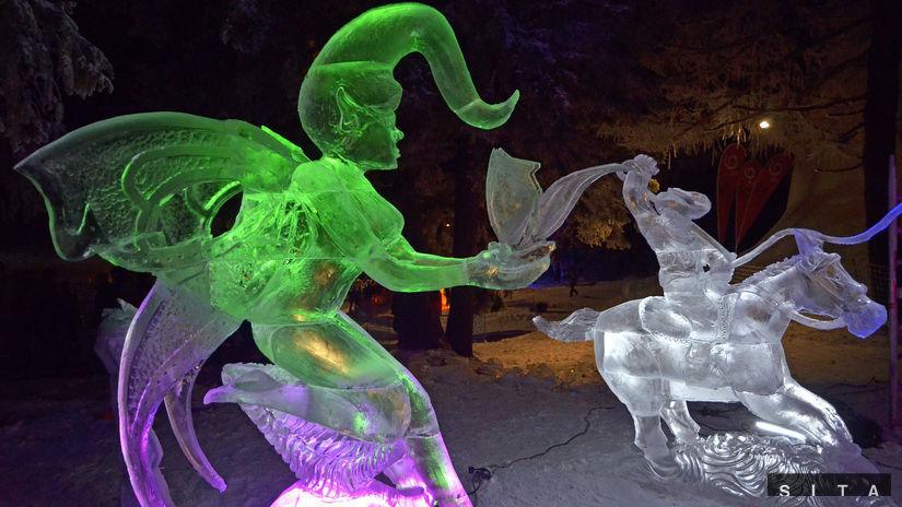 Vysoké Tatry, Tatry Ice Master, ľadové sochy