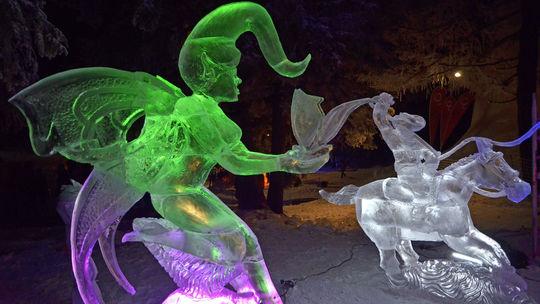 Ľadové sochy budú pod kupolou na Hrebienku až do apríla