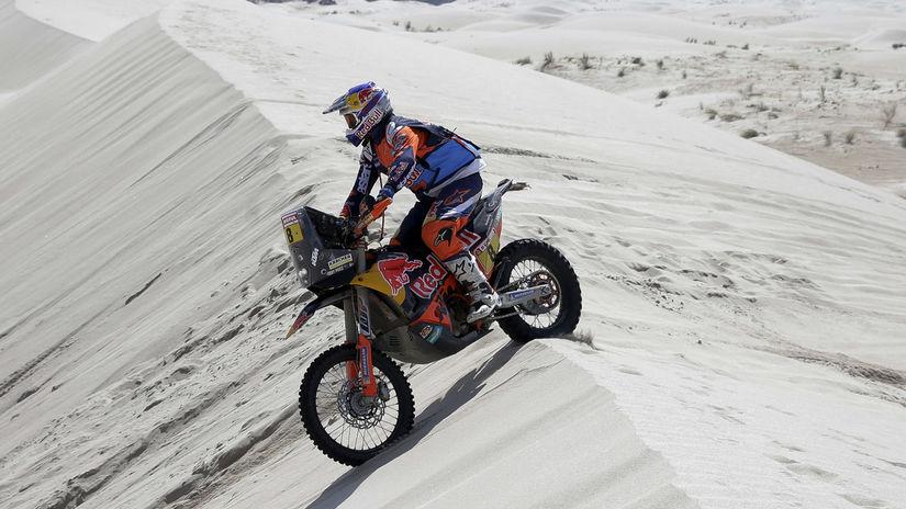 Argentína motorizmus Rely Dakar 11. etapa