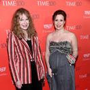 Herečka Mia Farrow a jej adoptívna dcéra Dylan Farrow