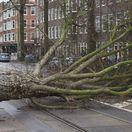 Holandsko Amsterdam počasie búrky vietor