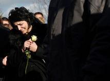 Milena Ivanovičová, pohreb, oliver ivanovič