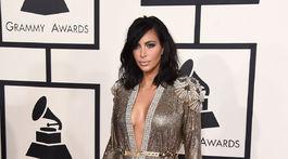 Rok 2015: Televízna celebrita Kim Kardashian