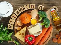Vitamín A, jedlo, zdravá strava