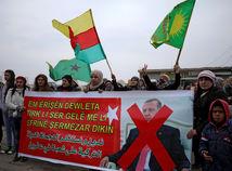 Afrín Protest Sýria