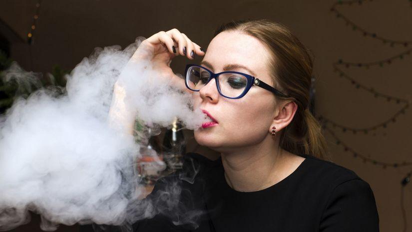 fajčenie, cigareta, dym