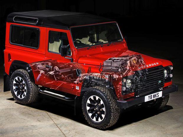Land Rover Defender Works V8 - 2018