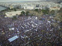 Grécko, Solún, protest