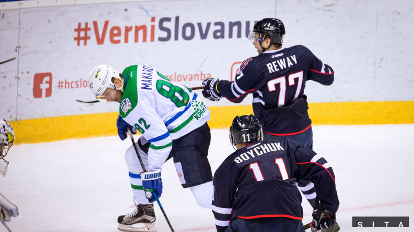 HOKEJ-KHL: Bratislava - Ufa