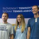 tenis, Kristian Cupak,  Magdalena Rybarikova, Petera Huber