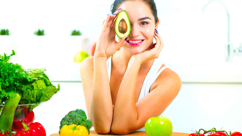 avokádo, pleť, výživa