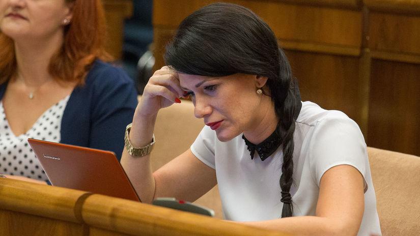 Jana Cigániková, SaS, poslankyňa, NR SR