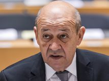 Jean-Yves Le Drian, Francúzsko, minister zahraničia,