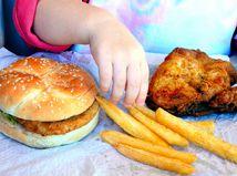 jedlo, tuky, obezita
