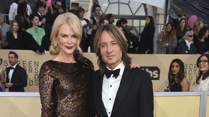 Nicole Kidman a jej manžel Keith Urban