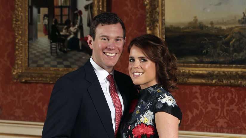 Princezná Eugenie a jej snúbenec Jack Brooksbank