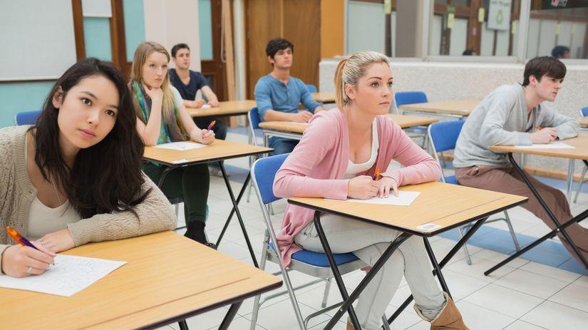 študenti, trieda