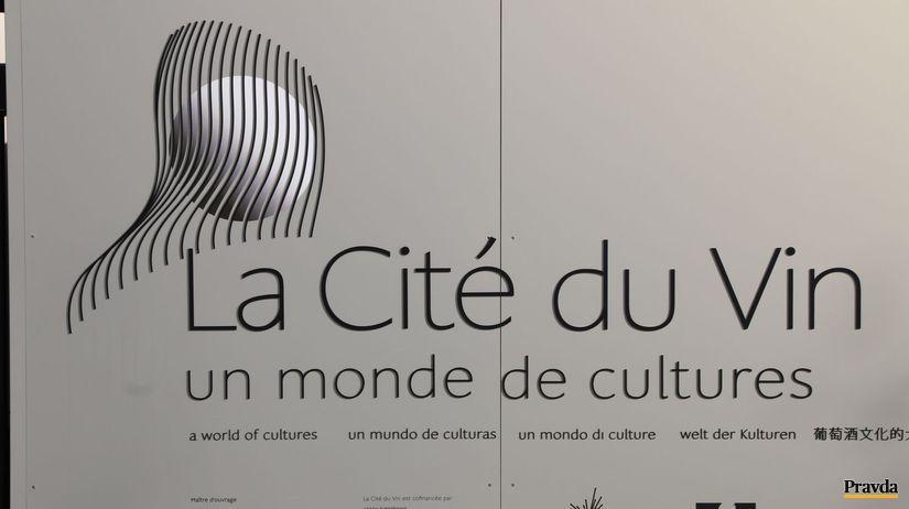La Cité du Vin - svet kultúr, vína predovšetkým.