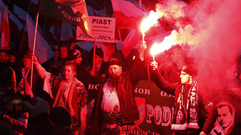 poľsko, neonacisti