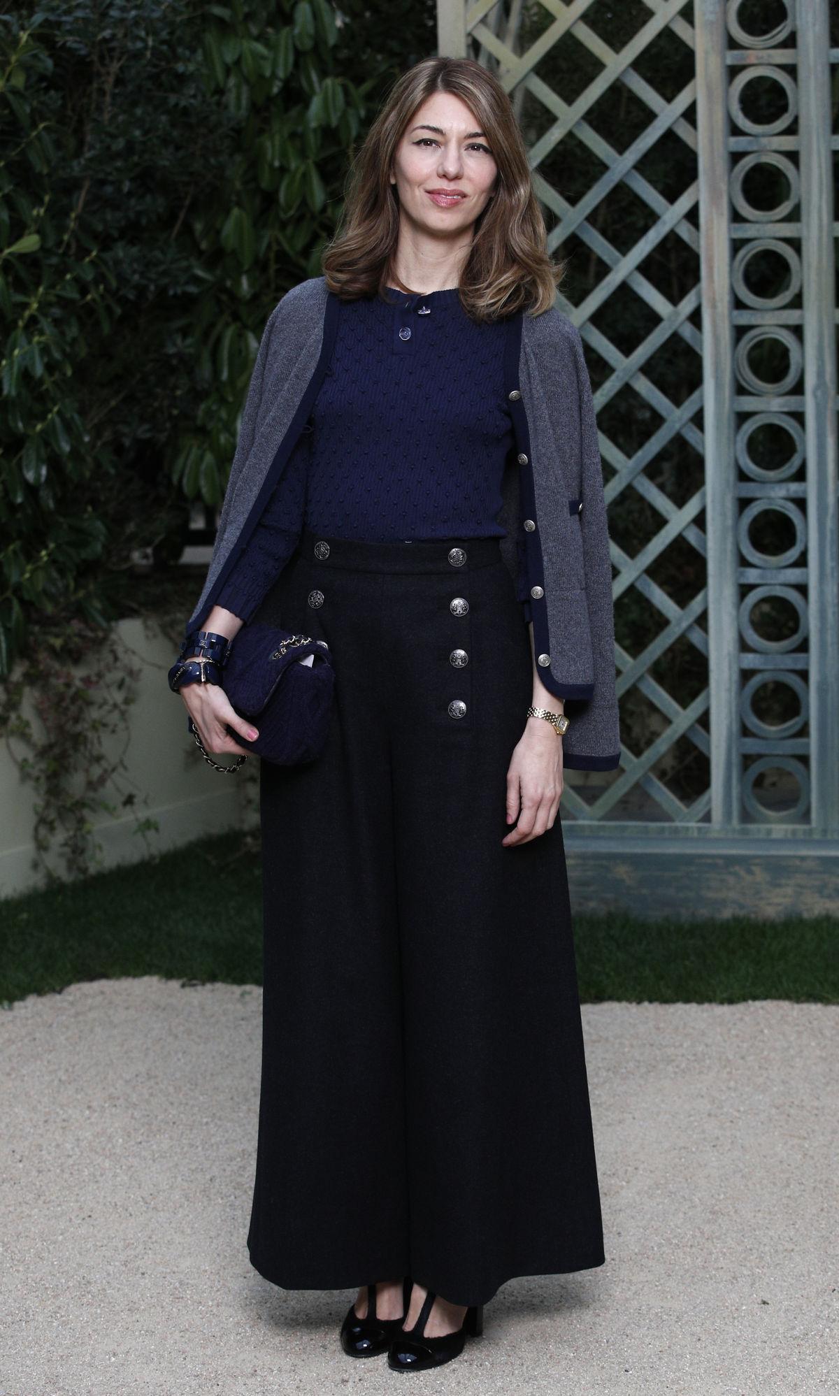 Režisérka Sofia Coppola prišla na prehliadku...