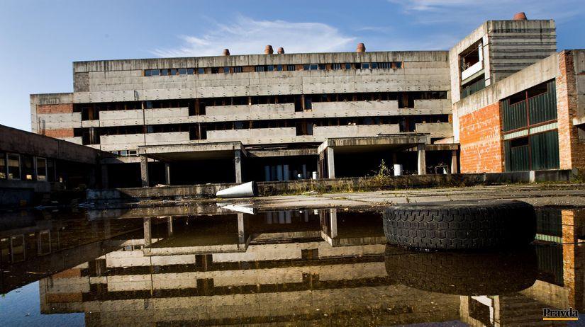Rozostavana nemocnica, lamac, Rázsochy