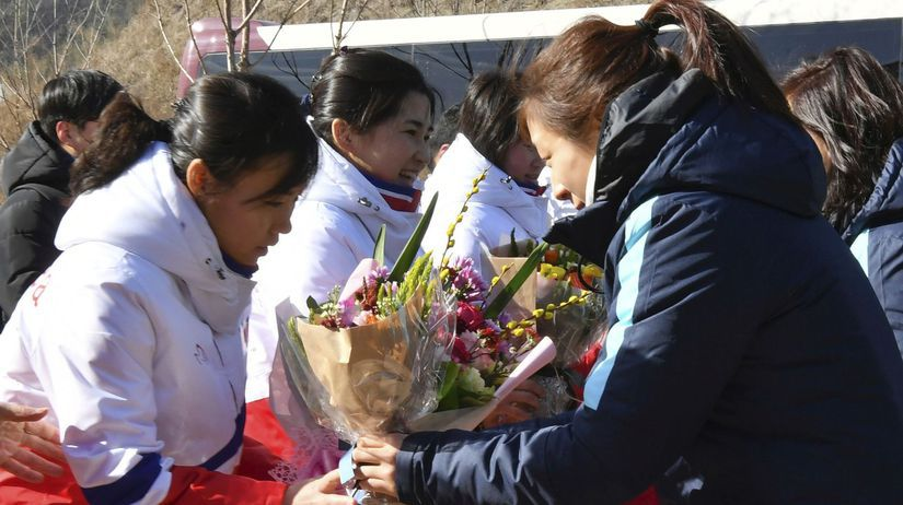 Kórea hokej ženy ZOH