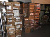 SR cigarety colníci únik clo daň KEX