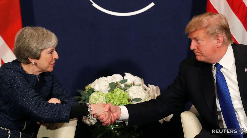Trump, Mayová