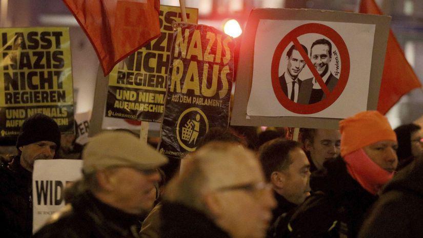 viedeň, rakúsko, ples, protest