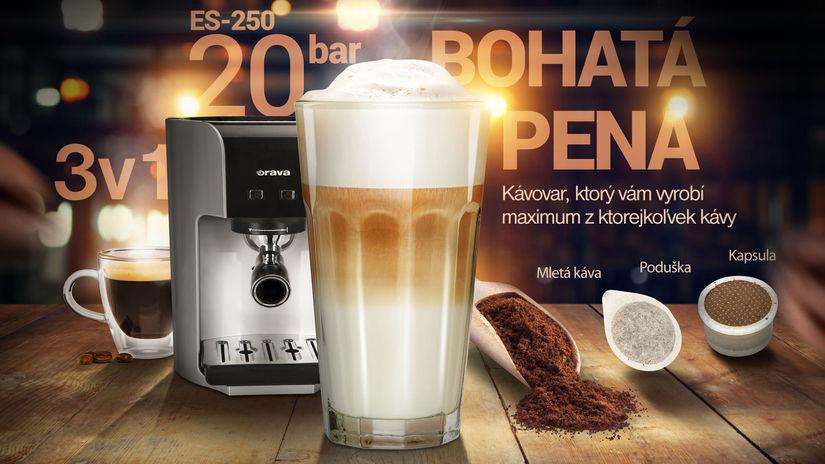 Vizual Orava ES250 K s kavou