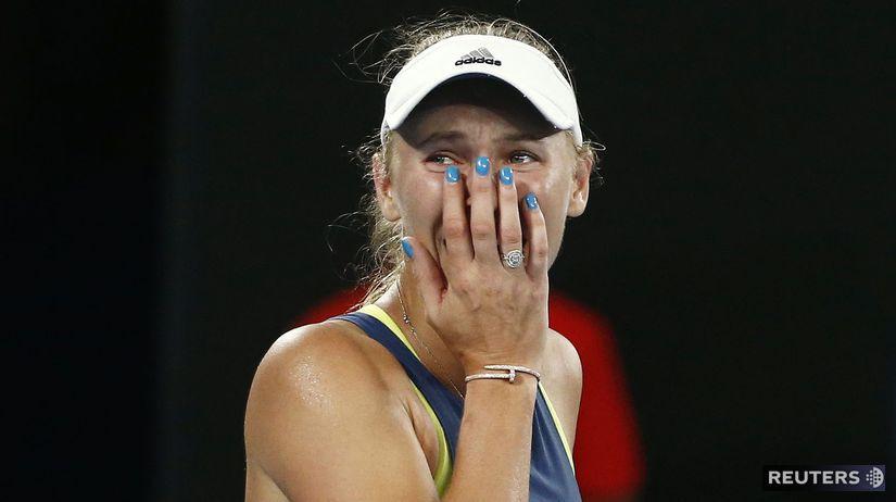 Caroline Wozniacka, Simona Halepová, Australian...