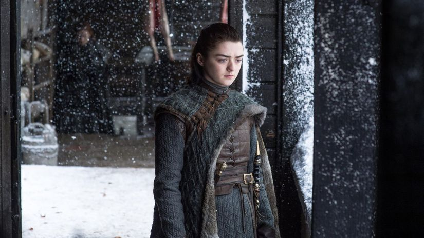 maisie williams, arya stark, hra o tróny, game...