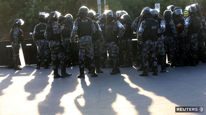 Brazília polícia