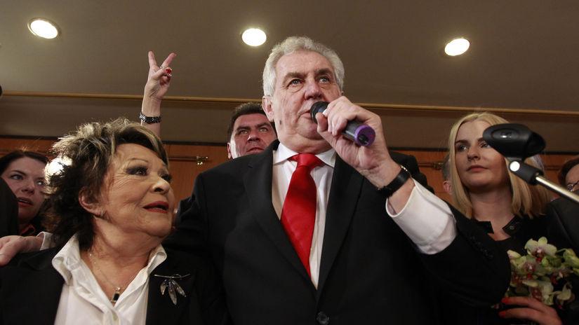 Česká republika, prezidentské voľby, Zeman,...
