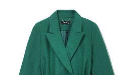 Dámsky kabát Reserved, predáva sa za 69,99 eura.