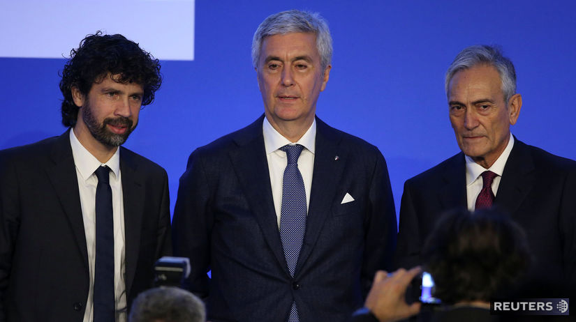 Gabriele Gravina, Cosimo Sibilia, Damiano Tommasi