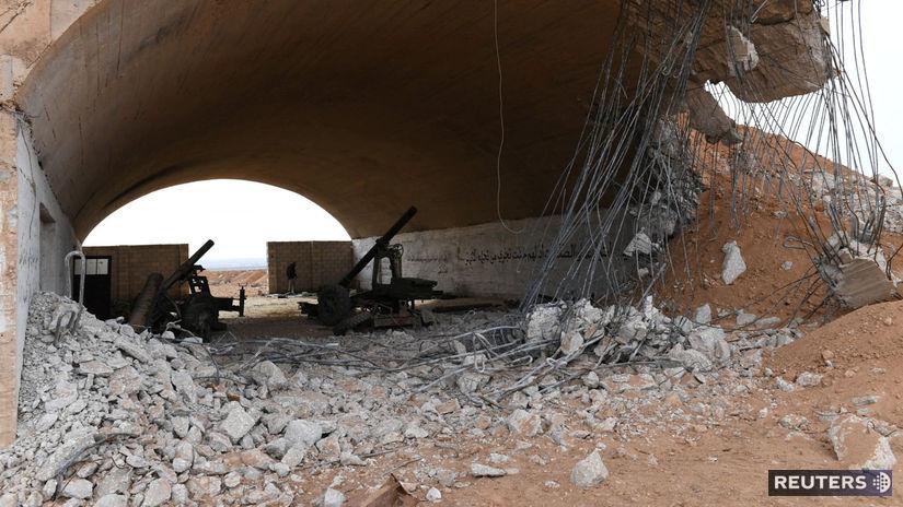 Idlib, sýria, zbrane, bombardovanie