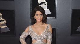 Maren Morris na vyhlásení cien 60. ročníka Grammy Awards.