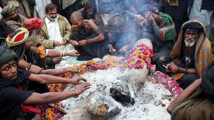 Pakistan, hašiš, ilustračné foto