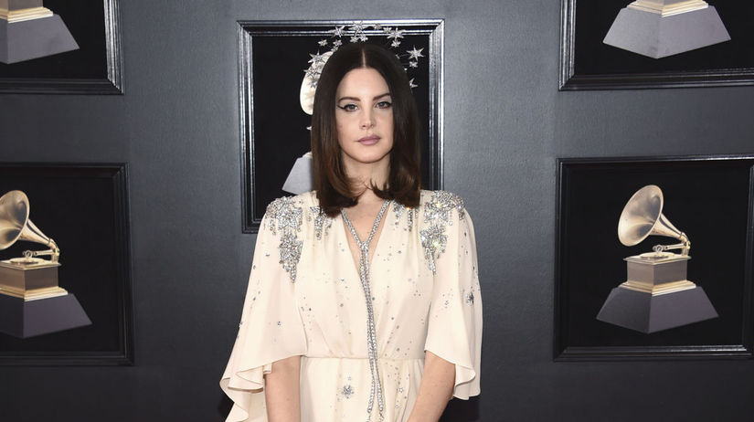 Speváčka Lana Del Rey.