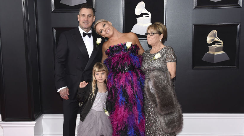 Speváčka Pink vzala na vyhlásenie cien Grammy...