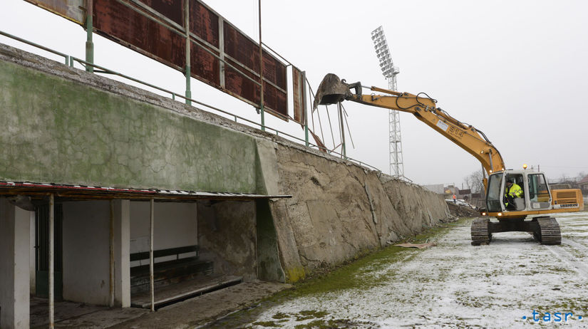 Tatran Prešov, štadión, búranie