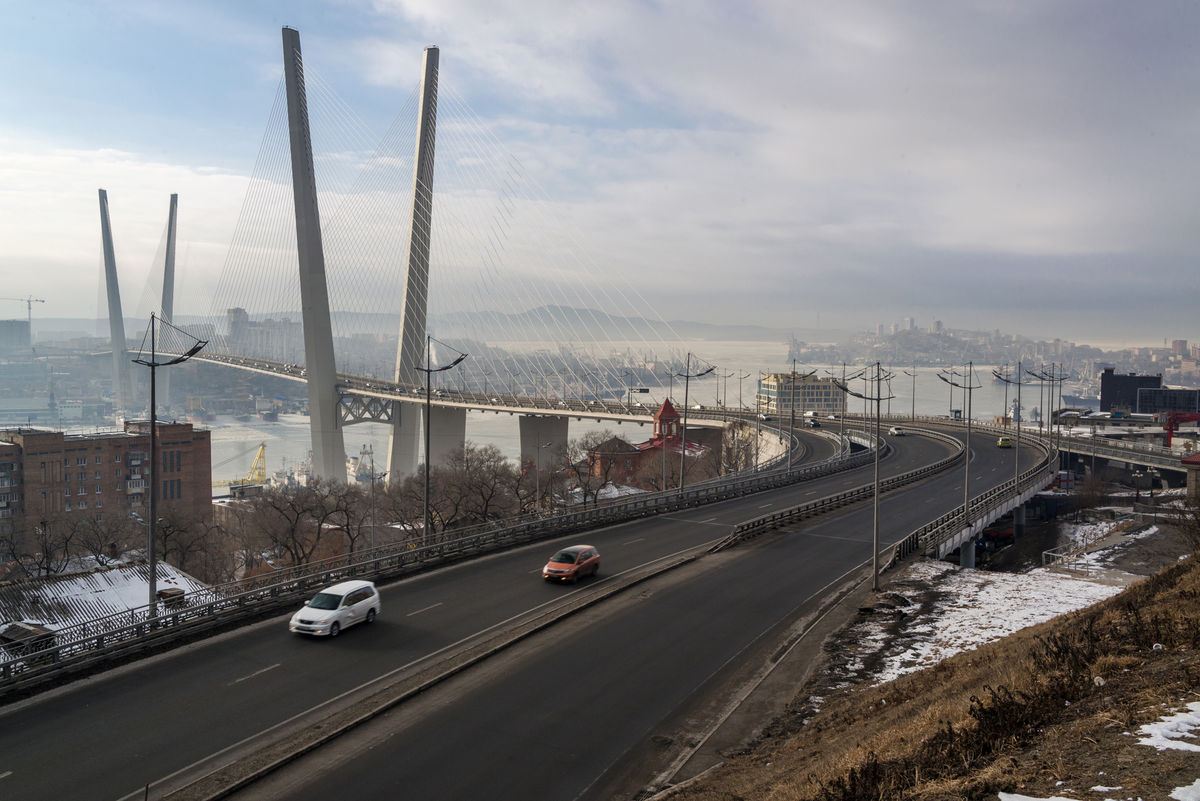Vladivostok, Rusko, most