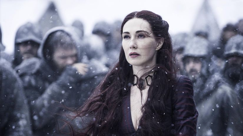 Carice van Houten, game of thrones, hra o tróny,