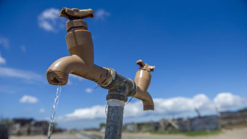 kohútik, voda, Kapské Mesto, JAR, sucho