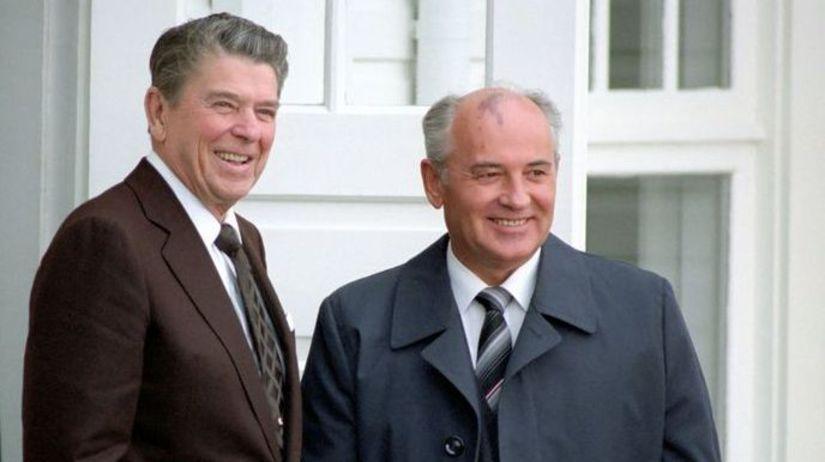 Ronald Reagan, Michail Gorbačov