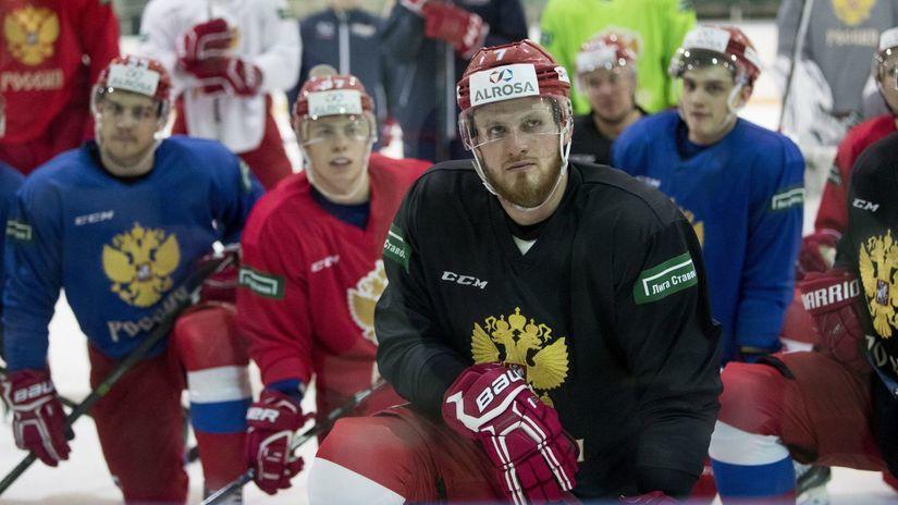 Rusko hokej reprezentácia ZOH2018
