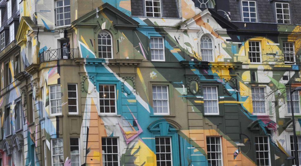 dom, budova, architektúra, Londýn, Británia