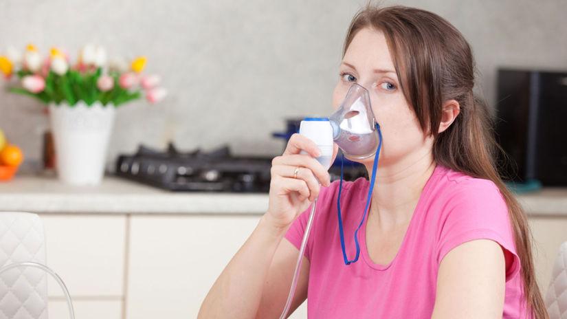dýchanie, inhalácia, nádcha, prechladnutie