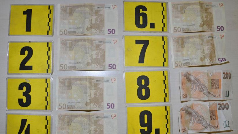 falšované bankovky